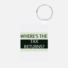 Where's the Tax Returns? (Large Version) Keychains