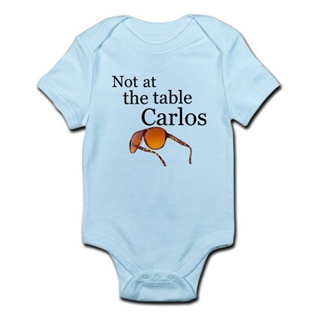 not at the table carlos Body Suit