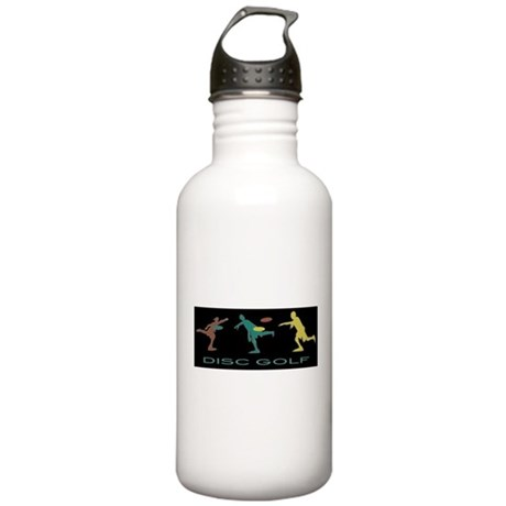 Disc Golf Triple Play 2 Stainless Water Bottle 1.0