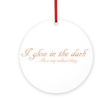 glow in the dark Ornament (Round)