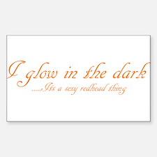 glow in the dark Decal