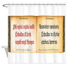 Cthulhu Fhtagn Shower Curtain