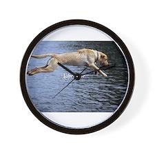Labrador Wall Clock