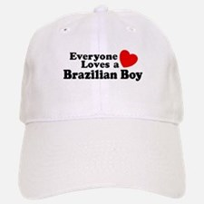 Everyone Loves a Brazilian Boy Baseball Baseball Cap