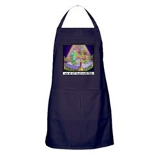 Where We Get Black-Eyed Peas Apron (dark)