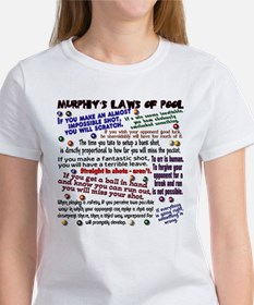 Murphy's Laws of Pool Women's T-Shirt