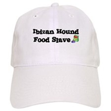 Ibizan Hound FOOD SLAVE Baseball Cap