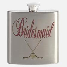 Hockey Bridesmaid.png Flask