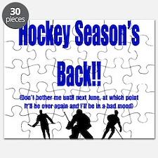 Hockey Season's Back!! Puzzle