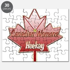 Canadian Womens Hockey Square.png Puzzle