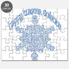 Happy Winter Solstice Puzzle