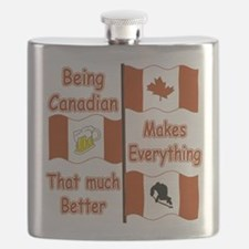 Being Canadian Flask