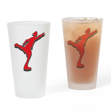 disc golfer supreme Drinking Glass