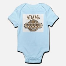 Adam's Rodeo Personalized Infant Creeper