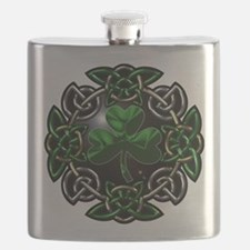 Celtic St Patricks Day square.png Flask