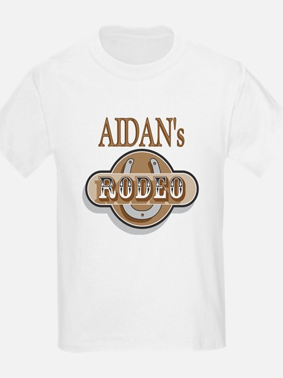 Aidan's Rodeo Personalized Kids T-Shirt