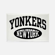Yonkers New York Rectangle Magnet
