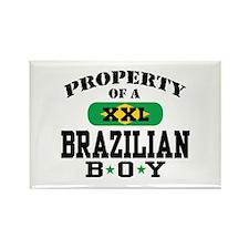 Property of a Brazilian Boy Rectangle Magnet