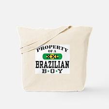 Property of a Brazilian Boy Tote Bag
