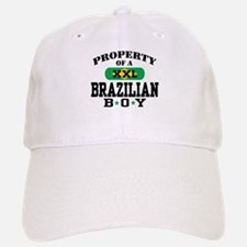 Property of a Brazilian Boy Baseball Baseball Cap