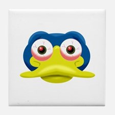 clover smile.png Tile Coaster