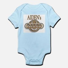 Aiden's Rodeo Personalized Infant Creeper