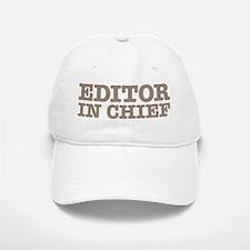 Editor in Chief Baseball Baseball Cap