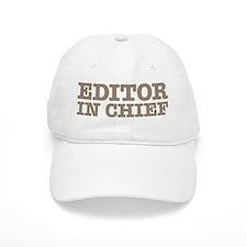 Editor in Chief Baseball Cap