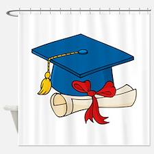 Graduation Shower Curtain