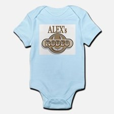 Alex's Rodeo Personalized Infant Creeper