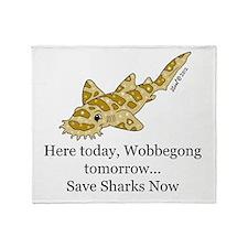 Wobbegong Throw Blanket