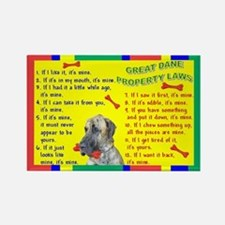 Property Laws -GreatDane,Brindle Magnets