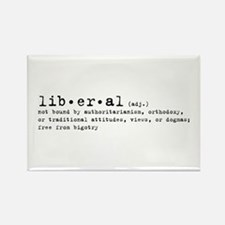 Liberal By Definition Rectangle Magnet