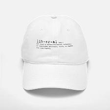 Liberal By Definition Baseball Baseball Cap