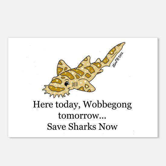 Wobbegong Postcards (Package of 8)