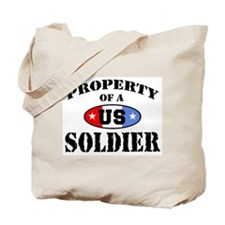 Property of a US Soldier Tote Bag