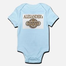 Alexander's Rodeo Personalized Infant Creeper