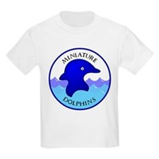 Miniature Dolphins Kids T-Shirt