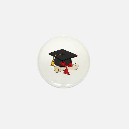 Graduation Mini Button