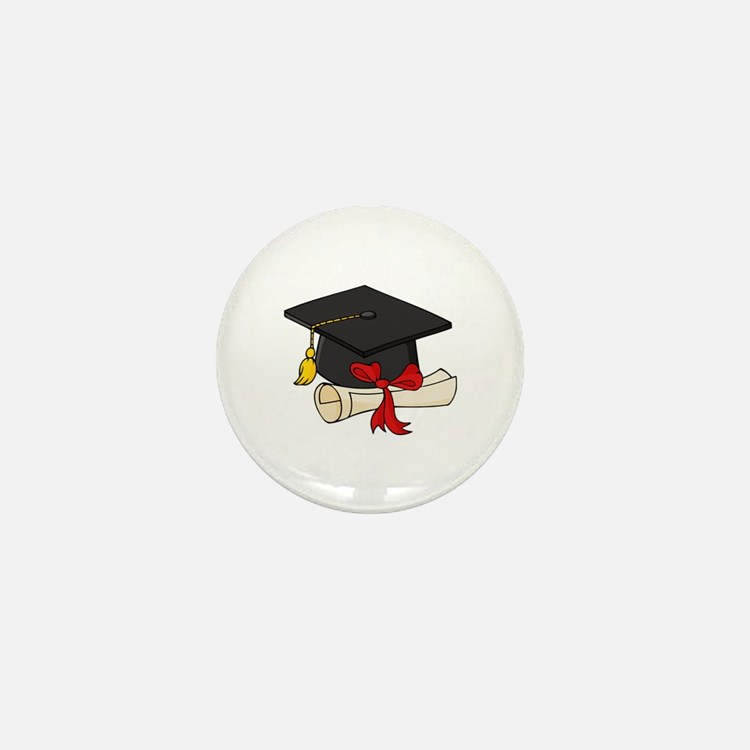 Graduation Mini Button (10 pack)