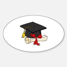 Graduation Sticker (Oval)