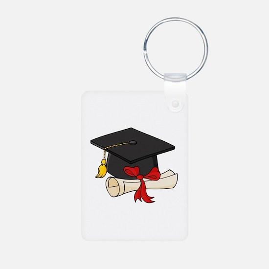 Graduation Aluminum Photo Keychain