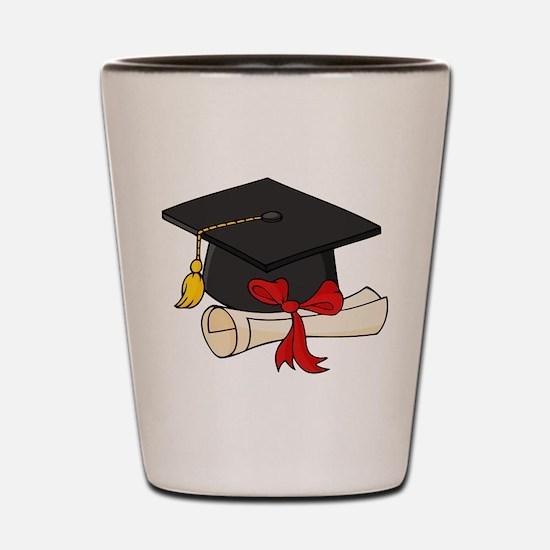 Graduation Shot Glass