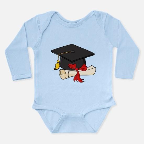 Graduation Long Sleeve Infant Bodysuit