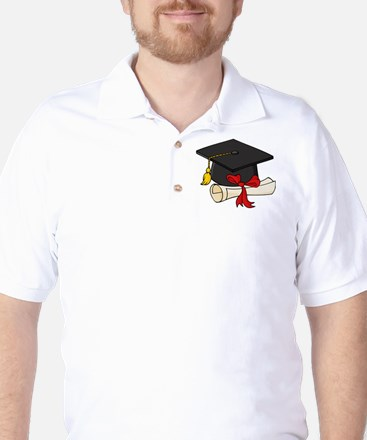 Graduation Golf Shirt