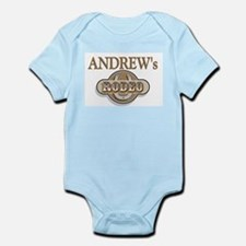 Andrew's Rodeo Personalized Infant Creeper