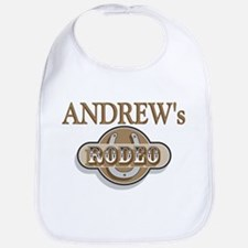 Andrew's Rodeo Personalized Bib