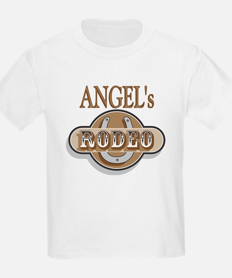 Angel's Rodeo Personalized Kids T-Shirt
