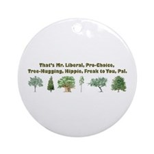 That's Mr. Liberal Ornament (Round)