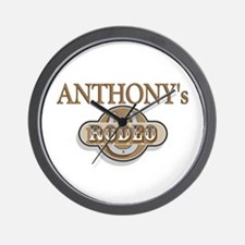 Anthony's Rodeo Personalized Wall Clock